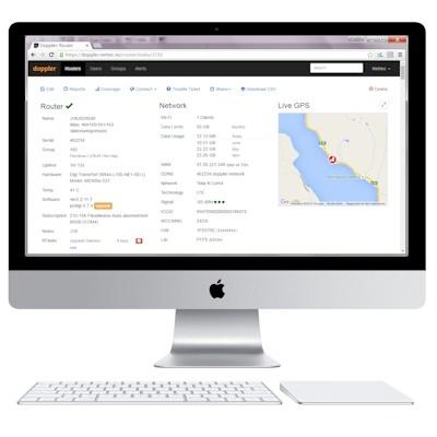 Administrasjon mobile rutere